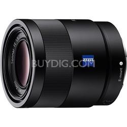 Sonnar T* FE 55mm F1.8 ZA Camera Lens - OPEN BOX