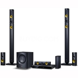 1460W 9.1ch 3D WiFi Smart Home Theater System w/ Wireless Speakers - BH9430PW