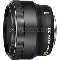 1 NIKKOR 32mm f/ 1.2 Lens (Black) - OPEN BOX
