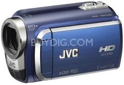 Everio Everio GZ-HD300 60GB High-Def Camcorder - Blue - REFURBISHED