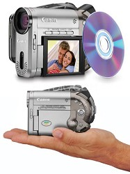 DC-20 DVD Camcorder With10x Optical Zoom