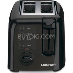 Compact 2-Slice Toaster - Black
