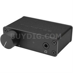uDAC3 Mobile USB DAC and Headphone Amplifier (Black)