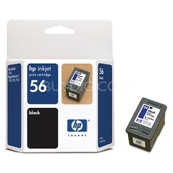 #56 Black Inkjet Cartridge - 19ml