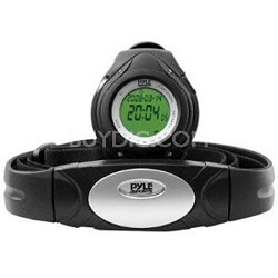 PHRM38BK Heart Rate Monitor Watch with 3D Walking/Running Sensor