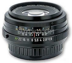 smc P-FA 43mm f1.9 Limited Edition Black Finish Lens