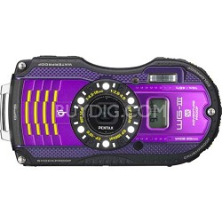 WG-3 16MP Purple GPS-Enabled Waterp,Shock & Crushproof Digi  Cam - OPEN BOX