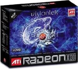 ATI RADEON X1300 512MB DDR2 AGP VGA DVI TV-OUT HDTV 250W REQ