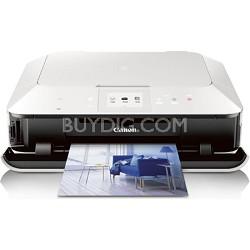 PIXMA MG6320 Wireless All-In-One Color Inkjet Photo Printer (White)