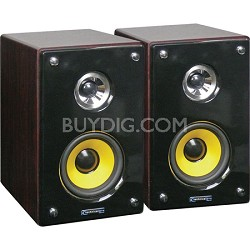 "MRS43U 4"" Studio Monitor Speakers"