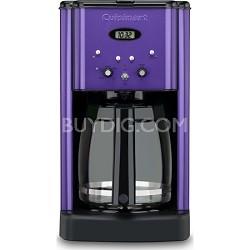 DCC-1200 Brew Central 12-Cup Coffeemaker, Metallic Purple - Factory Refurbished