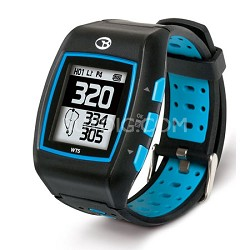 WT5 Golf GPS Watch, Black/Blue