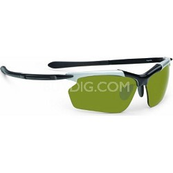 Eyeware RAZR Hyperlite Black and Silver Sunglasses - Men 5911256