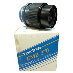 EMZ 370 35-70mm f3.5-4.8 52mm Zoom lens for Olympus - OPEN BOX