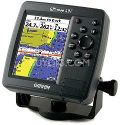 GPSMAP 492C Chartplotter with External Antenna
