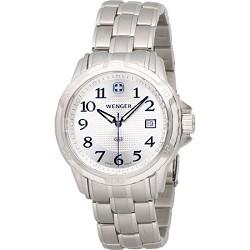 Men's GST Swiss Watch - Silver Dial/Stainless Steel Bracelet