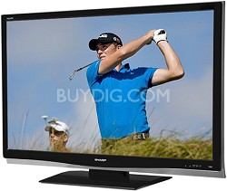 "LC-46D64U - AQUOS 46"" High-definition 1080p LCD TV"
