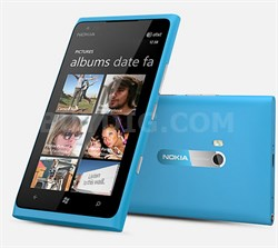 Lumia 900 16GB Blue Unlocked Smartphone Blue 4G AT&T or any GSM - OPEN BOX