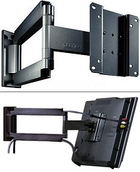 "Smart Mount Articulating Arm for 10"" to 22"" LCDs (Black) - OPEN BOX"