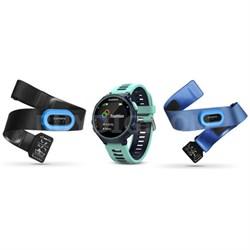 Forerunner 735XT GPS Running Watch Tri-Bundle - Midnight Blue (010-01614-04)