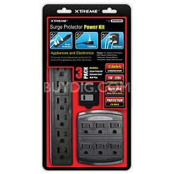 Home/Office Surge Protector Power Kit (270 joules protection)