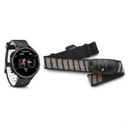 Forerunner 230 GPS Running Watch w/ Chest Strap HRM (Black) 010-03717-42