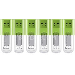 32 GB JumpDrive High Speed USB Flash Drive (Green) 6-Pack (192GB Total)