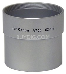 Lens Adapter  for Powershot A700 - 52mm and A720