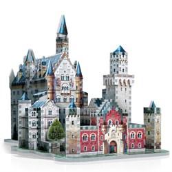 3D Neuschwanstein Castle Jigsaw Puzzle, 890-Piece