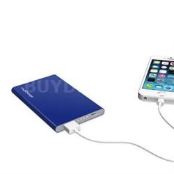 RAZORPLUS Portable Chrgr Blue