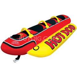 Towable Hot Dog (seats three)