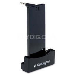 K33451US Wireless Car Cradle with Auxiliary Dock for iPod Nano (Black)