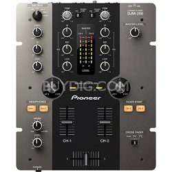 DJM-250-K 2-Channel Performance DJ Mixer - Black