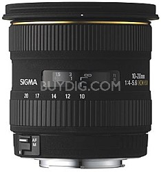 10-20mm f/4-5.6 EX DC HSM Lens for Minolta and Sony Digital SLR Cameras