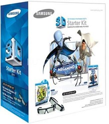 SSG-P3100M - 3D Starter Kit (for 2011 D series Samsung TVs) - OPEN BOX