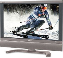 "LC-26D6U - AQUOS 26"" High-definition LCD TV"