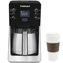 Perfec Temp 12 Cup Coffee Maker - DCC-2900 w/ Copco 16oz. Reusable Mug Bundle
