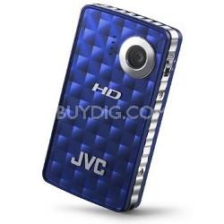 GC-FM1A Picsio Pocket Flash Memory 1080p Camcorder (Brilliant Blue)