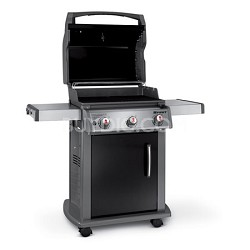 Spirit E310 Liquid Propane Gas Grill - Black