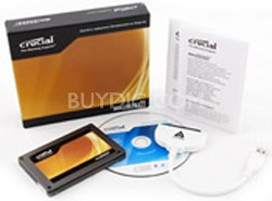 "64GB Crucial C300 2.5"" Solid-State Drive with Data Transfer Kit"