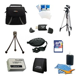 Loaded Tripod and NB-10L Kit For Canon Powershot SX40,SX50, G15,G16 & G1X