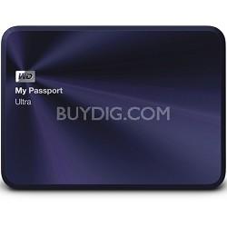 My Passport Ultra Metal Edition 1TB Blue - WDBTYH0010BBA-NESN