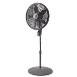 """18"""" Stand Fan w Remote Gray"""