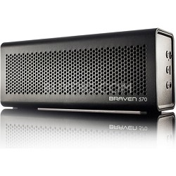 570 Portable Bluetooth Speaker, Speakerphone, and Charger (Black) BZ570BBP