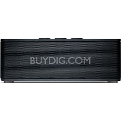 Superior Sound Soundbrick Bluetooth Black Stereo Speaker with Built-in Mic