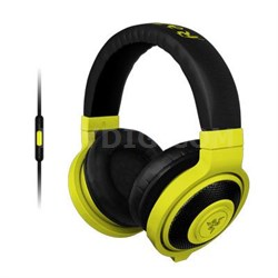 Kraken Analog Music and Gaming Headset in Neon Yellow - RZ04-01400200-R3U1