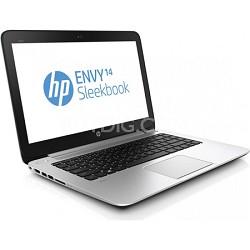 "ENVY 14-k010us 14.0"" HD LED Sleekbook PC -Intel Core i5-4200U Processor OPEN BOX"