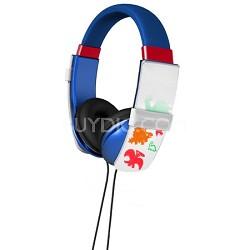 Erasable Doodle Headphones - Blue