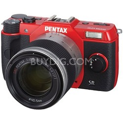 Q10 12.4MP with 02 zoom lens kit (Red) Lens Included