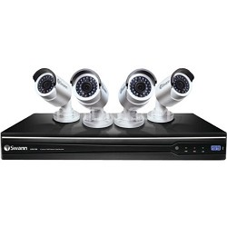 8-Channel 4 Camera Professional Surveillance HD Security System - SWNVK-872004